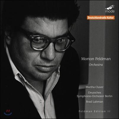 Brad Lubman 모튼 펠드먼 11집 - 관현악 작품 (Morton Feldman Edition 11 - Orchestra)