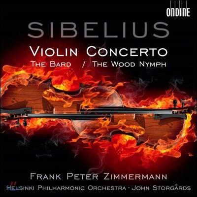 Frank Peter Zimmermann 시벨리우스: 바이올린 협주곡, 방랑시인, 숲의 요정 (Sibelius: Violin Concerto)