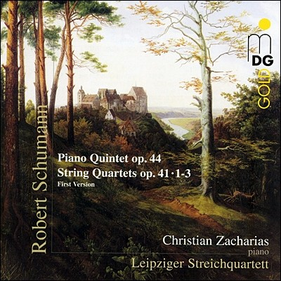 Leipziger Streichquartett 슈만: 피아노 오중주, 현악 사중주 (Schumann: Piano Quintet Op.44, String Quartet Op.41)