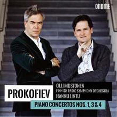 프로코피에프: 피아노 협주곡 1, 3, 4번 (Prokofiev: Piano Concertos No.1, 3 & 4) - Olli Mustonen