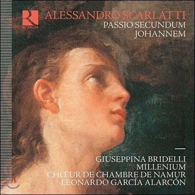 Leonardo Garcia Alarcon / Millenium 알레산드로 스카를라티: 요한 수난곡 (Alessandro Scarlatti: Passio Secundum Johannem) 나뮈르 실내 합창단, 밀레니엄 오케스트라, 레오나르도 가르시아 알라르콘