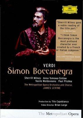 베르디 : 시몬 보카네그라 - 제임스 레바인