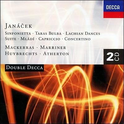 Charles Mackerras / Neville Marriner 야나체크: 신포니에타, 타라스 불바, 콘체르티노 (Janacek: Sinfonietta)
