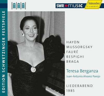 테레사 베르간자 - 가곡의 밤