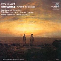 RIAS Kammerchor 슈베르트 : 밤의 노래 (Schubert : Nachtgesang) RIAS 실내 합창단