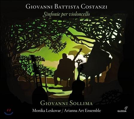 Giovanni Sollima 코스탄치: 첼로와 콘티누오를 위한 신포니아 (Giovanni Battista Costanzi: Sinfonie per Violoncello) 조반니 솔리마, 모니카 레스코바, 아리안나 아트 앙상블