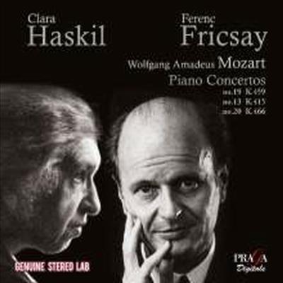 모차르트: 피아노 협주곡 13, 19, 20번 (Mozart: Piano Concerto No.13, 19 & 20) - Clara Haskil