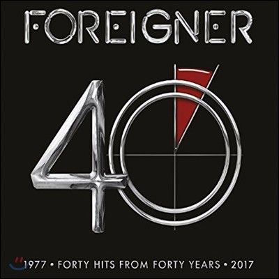 Foreigner (포리너) - 40 (1977-2017 데뷔 40주년 기념 베스트 앨범) [Deluxe Edition]