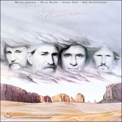 Johnny Cash / Willie Nelson / Waylon Jennings / Kris Kristofferson (조니 캐쉬, 윌리 넬슨, 웨이론 제닝스, 크리스 크리스토퍼슨)- Highwayman [LP]