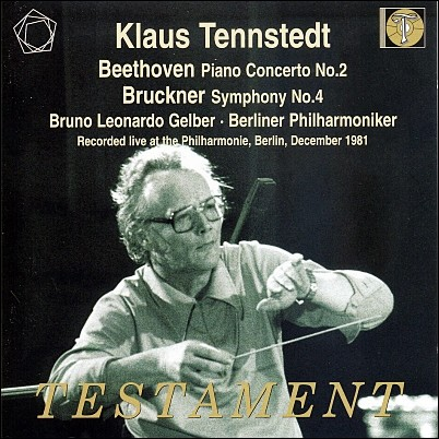 브루크너 : 교향곡 4번 / 베토벤 : 피아노 협주곡 2번 - 텐슈테트