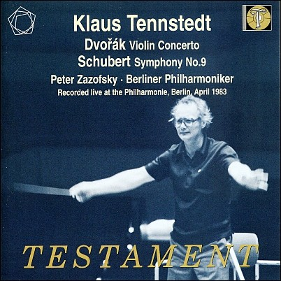 드보르작 : 바이올린 협주곡 / 슈베르트 : 교향곡 9번 '그레이트' - 텐슈테트