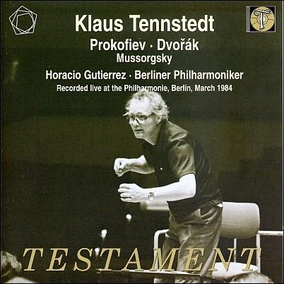 Klaus Tennstedt 드보르작: 교향곡 9번 `신세계로부터` / 프로코피에프: 피아노 협주곡 2번 / 무소르그스키: 민둥산의 하룻밤 (Prokofiev: Piano Concerto No.2 / Dvorak: Symphony No.9 `From the new world`)