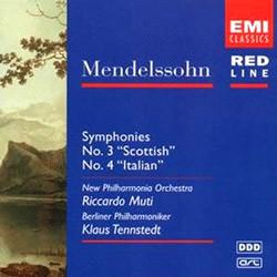 Mendelssohn : Symphony No.3 'Scottish' & No.4 'Italian : Tennstedt