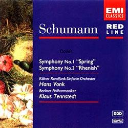 Schumann : Symphony No.1 & 3 : Tennstedt