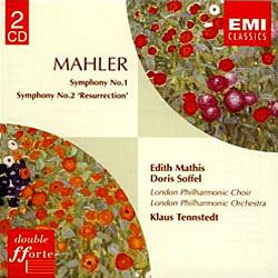 Mahler : Symphony No.1 & No.2 : Tennstedt