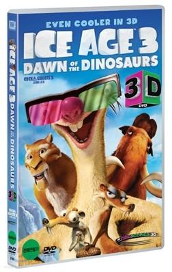 아이스 에이지 3: 공룡시대 3D (3D 종이안경 4세트 인팩)