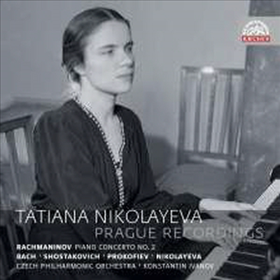 라흐마니노프: 피아노 협주곡 2번, 프로코피에프: 피아노 협주곡 3번 (Rachmaninov & Prokofiev: Piano Concertos - Tatiana Nikolayeva - Prague Recordings) (2CD) - Tatiana Nikolayeva