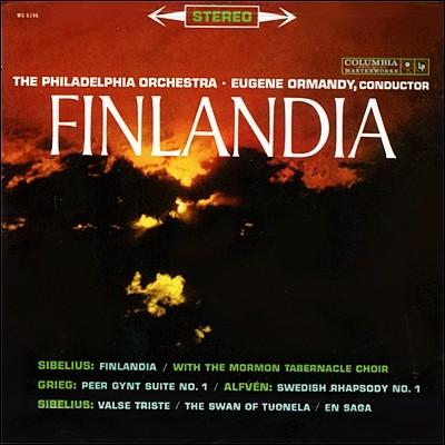 Eugene Ormandy 시벨리우스: 핀란디아 / 그리그: 페르귄트 모음곡 1번 (Sibelius : Finlandia Op. 26)