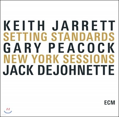 Keith Jarrett Trio - Setting Standars New York Sessions + 내한기념 Large 사이즈 티셔츠 패키지