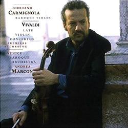 비발디 : 후기 바이올린 협주곡 - 카르미뇰라, 마르콘