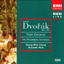 Dvorak : Violin ConcertoㆍRomance / Bartok : 2 Rhapsodies : 정경화ㆍMuti