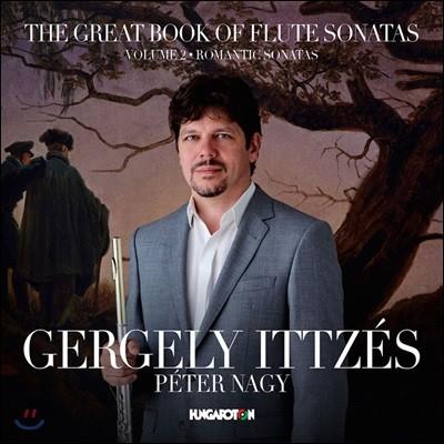 Gergely Ittzes 위대한 플루트 소나타 작품 2집 - 낭만주의 소나타 (The Great Book of Flute Sonatas, Vol. 2 - Romantic Sonatas) 게르게이 잇츠슈, 페터 나지