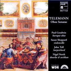 Telemann : Oboe Sonata : Goodwin