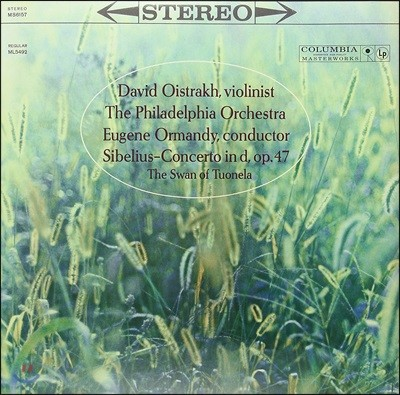 David Oistrakh 시벨리우스: 바이올린 협주곡, 튜오넬라의 백조 - 다비드 오이스트라흐 [LP]