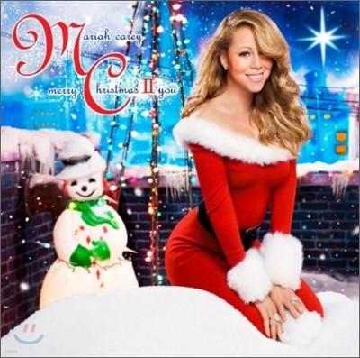 Mariah Carey - Merry Christmas II You 머라이어 캐리 캐럴 2집 (Deluxe Edition)