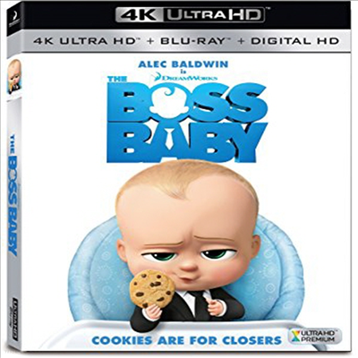 The Boss Baby (보스 베이비) (2017) (한글무자막)(4K Ultra HD + Blu-ray + Digital HD)