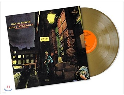 David Bowie (데이빗 보위) - The Rise And Fall Of Ziggy Stardust And The Spiders From Mars [골드 컬러 LP]