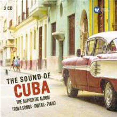 쿠바 사운드 (Sound of Cuba) (Digipack)(3CD) - Manuel Barrueco