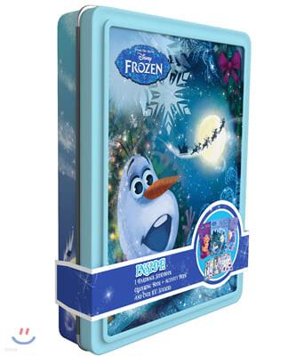 Disney Frozen Olaf Happy Tin 디즈니 겨울왕국 올라프 해피 틴 케이스