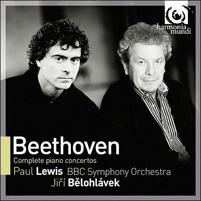 Paul Lewis 베토벤: 피아노 협주곡 전곡집 (Beethoven: Piano Concertos Nos. 1-5) 폴 루이스, 이르지 벨로흘라베크