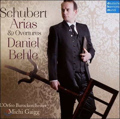 Daniel Behle 슈베르트: 아리아 & 서곡 - 다니엘 베흘, 미치 가이그, 오르페오 바로크 오케스트라 (Schubert: Arias & Overtures)