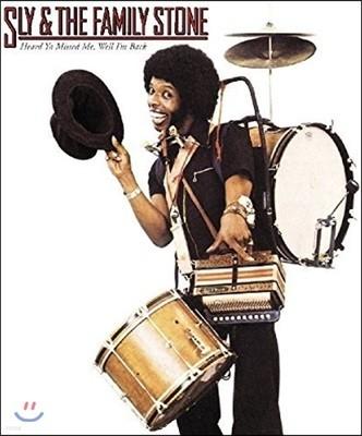Sly & the Family Stone (슬라이 앤 더 패밀리 스톤) - Heard Ya Missed Me, Well I'm Back