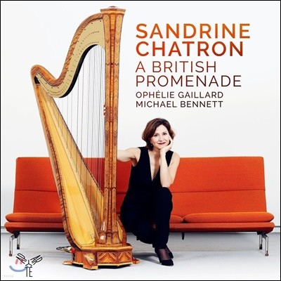 Sandrine Chatron 하프로 연주하는 영국 작곡가들의 작품 - 브리튼 / 버클리 / 구센스 (A British Promenade) 상드린 샤트롱, 오펠리 가이야르