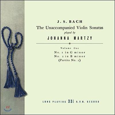요한나 마르치 - 바흐: 무반주 바이올린 소나타 & 파르티타 1집 BWV1001 & 1002 (Johanna Martzy - J.S. Bach: The Unaccompanied Violin Sonatas Volume One) [LP]