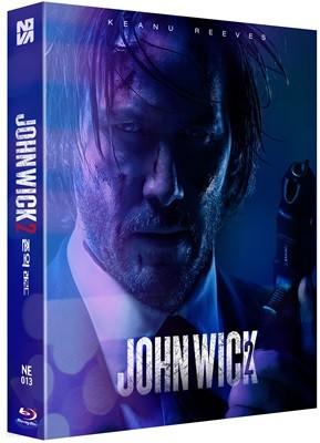 존윅 2 (1Disc 풀슬립A 스틸북 한정판) : 블루레이