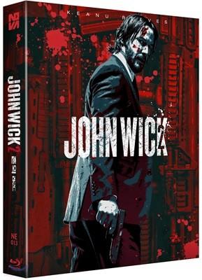 존윅 2 (1Disc 풀슬립B 스틸북 한정판) : 블루레이