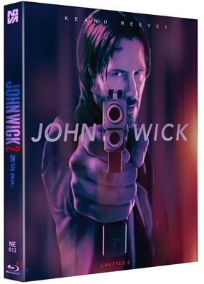존윅 2 (1Disc 렌티큘러 슬립 스틸북 한정판) : 블루레이