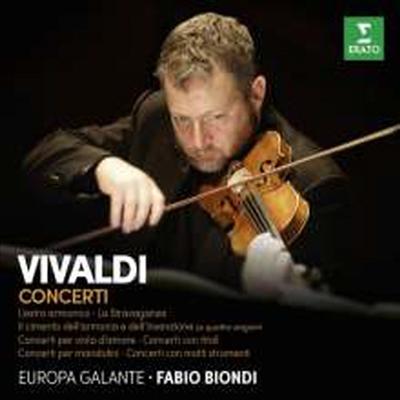 파비오 비온디 - 비발디 협주곡 (Fabio Biondi Plays Vivaldi Concertos) (9CD Boxset) - Fabio Biondi