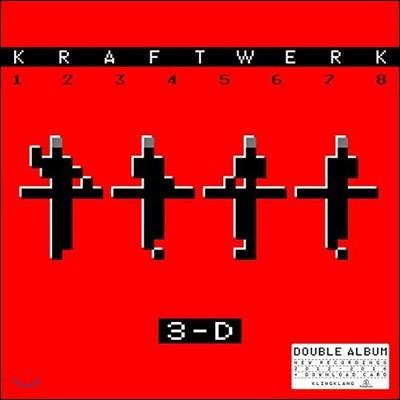 Kraftwerk (크라프트베르크) - 3-D The Catalogue (3-D 멀티미디어 아트 퍼포먼스) [2 LP]