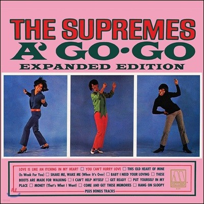 Supremes (슈프림스) - Supremes A Go Go [Expanded Edition]