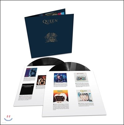 Queen - Greatest Hits II 퀸 베스트 앨범 2집 [2LP]