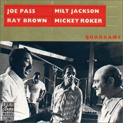 Joe Pass, Milt Jackson, Ray Brown & Mickey Roker - Quadrant