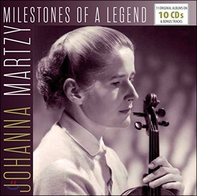 요한나 마르치 - 11 오리지널 앨범 10CD 박스세트 (Johanna Martzy Milestones of a Legend - 11 Original Albums)