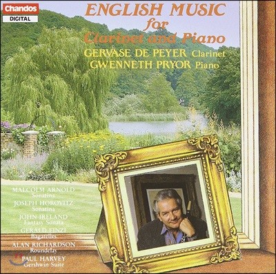 Gervase de Peyer 클라리넷과 피아노를 위한 영국 음악 - 핀츠 / 호로비츠 / 존 아일랜드 / 말콤 아놀드 (Enghish Music For Clarinet And Piano - Finzi / Horovitz / John Ireland / Malcolm Arnold)
