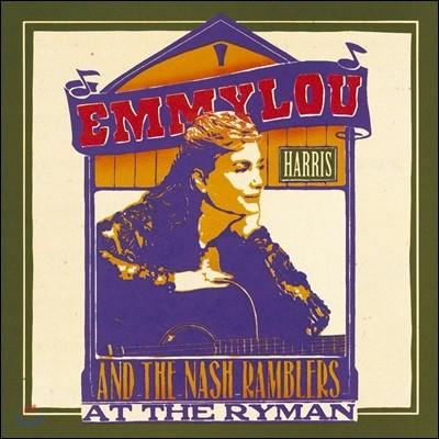 Emmylou Harris & the Nash Ramblers (에밀루 해리스 & 내쉬 램블러스) - At The Ryman [2 LP]