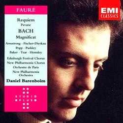 Faure : Requiem / Bach : Magnificat : Barenboim